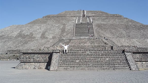 Mexican Pyramid Steps